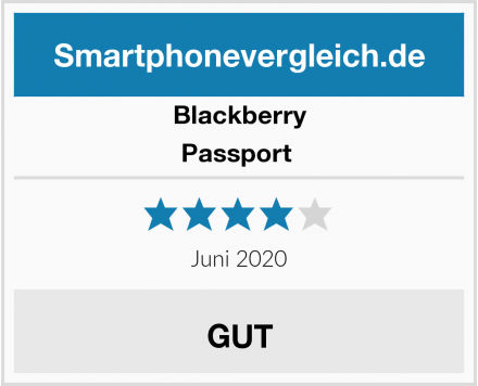 Blackberry Passport  Test