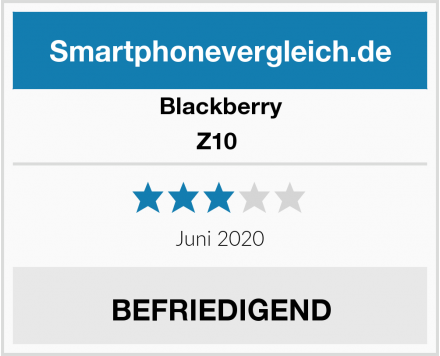 Blackberry Z10  Test