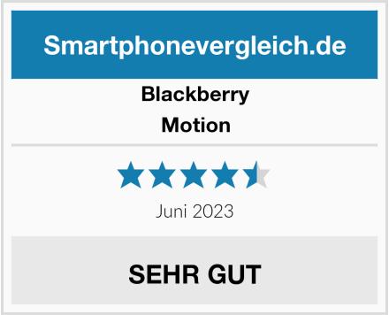 Blackberry Motion Test