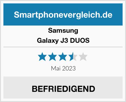 Samsung Galaxy J3 DUOS Test