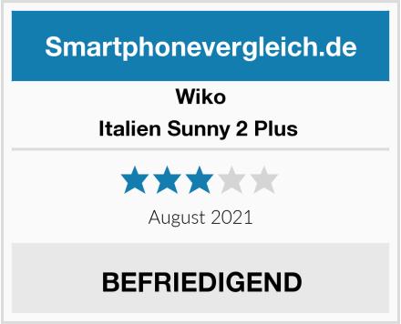 Wiko Italien Sunny 2 Plus  Test