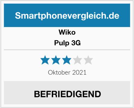 Wiko Pulp 3G Test