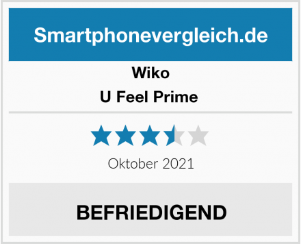 Wiko U Feel Prime  Test