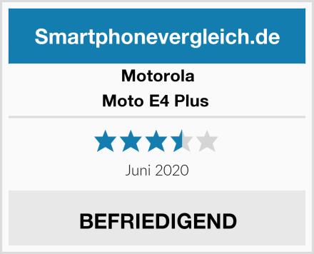 Motorola Moto E4 Plus  Test
