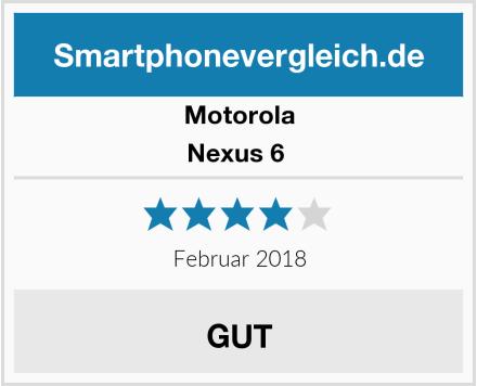 Motorola Nexus 6  Test