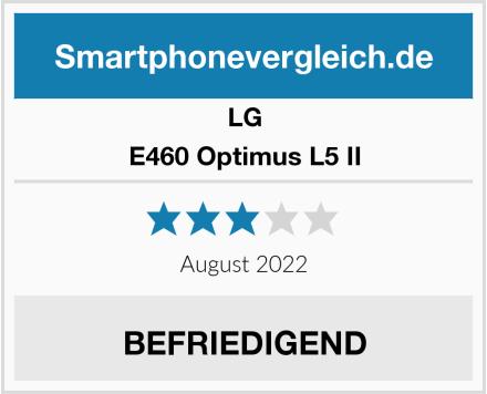 LG E460 Optimus L5 II Test