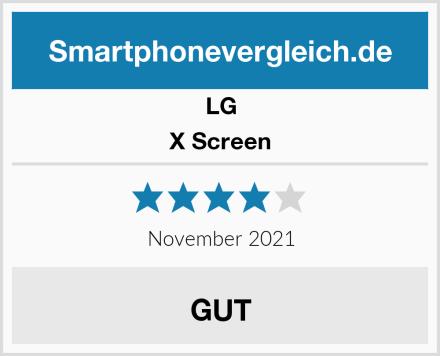 LG X Screen Test