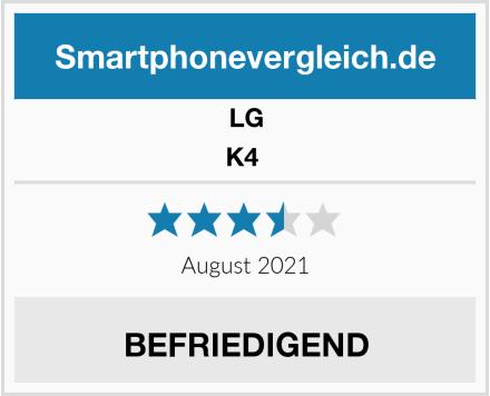 LG K4  Test