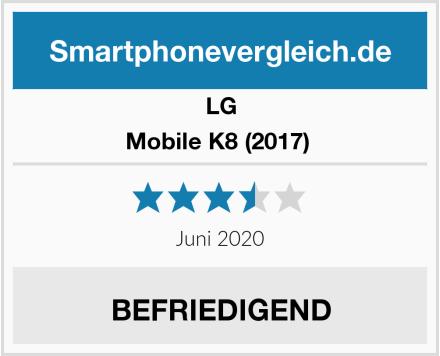 LG Mobile K8 (2017)  Test
