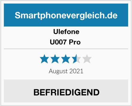 Ulefone U007 Pro  Test