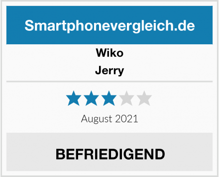 Wiko Jerry Test