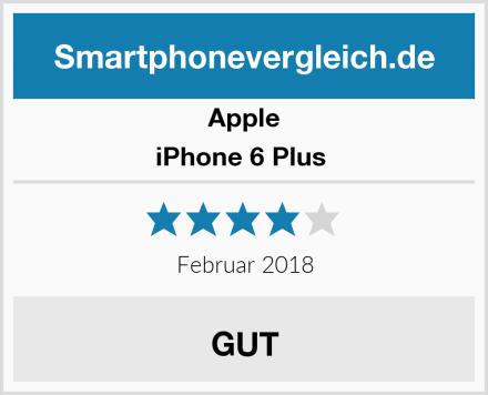 Apple iPhone 6 Plus  Test