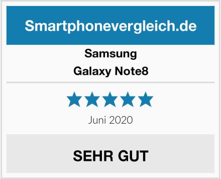 Samsung Galaxy Note8 Test