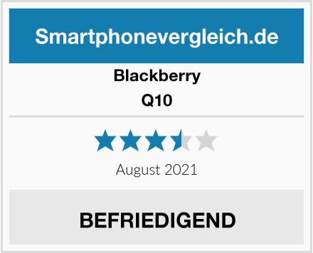 Blackberry Q10 Test