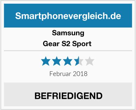 Samsung Gear S2 Sport  Test