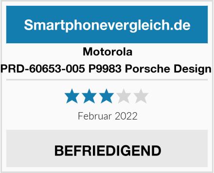 Motorola PRD-60653-005 P9983 Porsche Design  Test