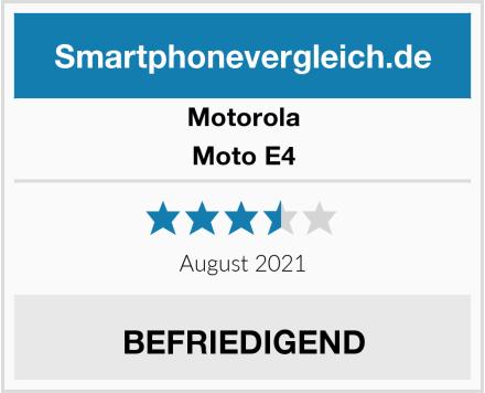 Motorola Moto E4 Test