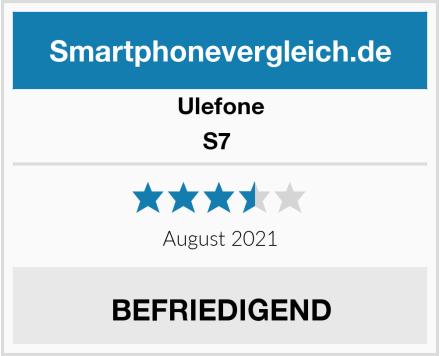 Ulefone S7  Test