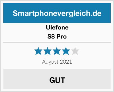 Ulefone S8 Pro Test