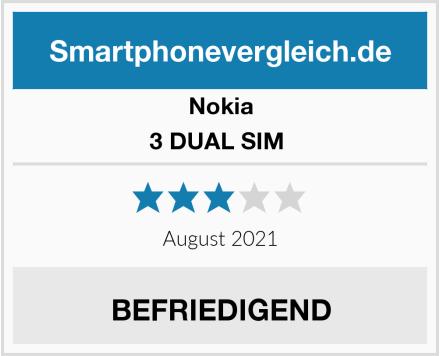 Nokia 3 DUAL SIM  Test
