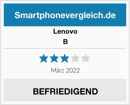 Lenovo B Test