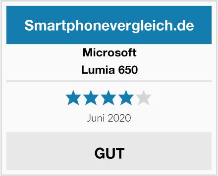 Microsoft Lumia 650 Test