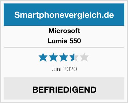 Microsoft Lumia 550 Test