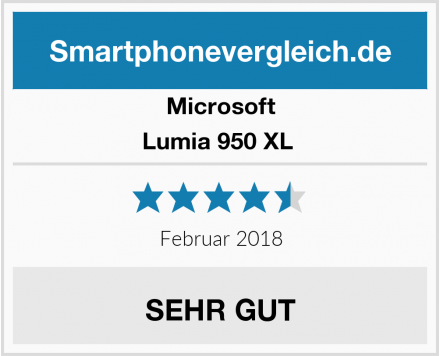 Microsoft Lumia 950 XL  Test