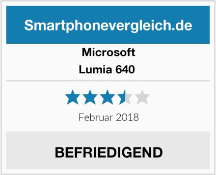 Microsoft Lumia 640  Test