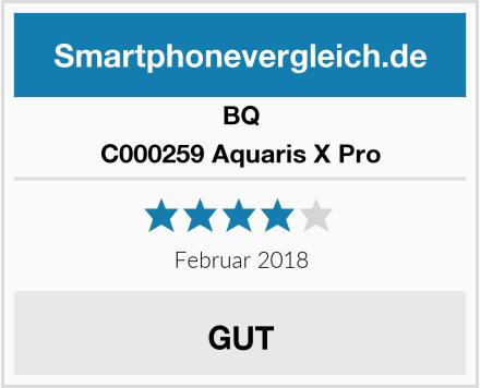 BQ C000259 Aquaris X Pro Test