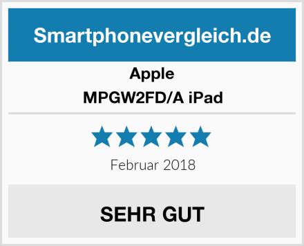 Apple MPGW2FD/A iPad Test
