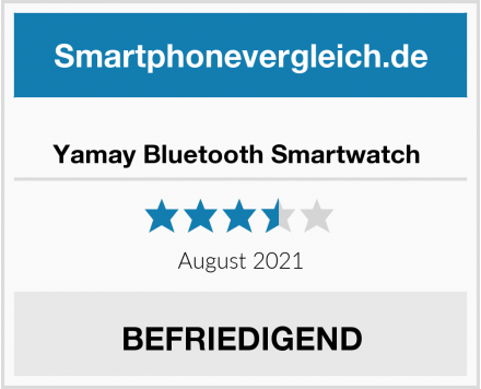 No Name Yamay Bluetooth Smartwatch  Test
