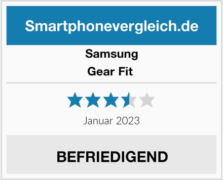Samsung Gear Fit  Test