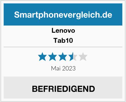 Lenovo Tab10 Test