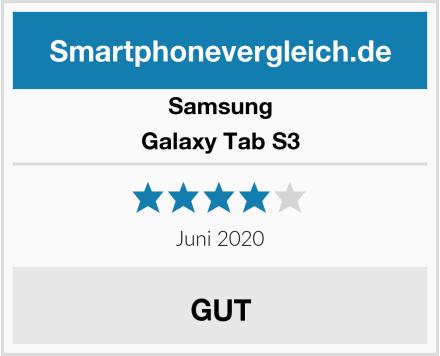 Samsung Galaxy Tab S3 Test
