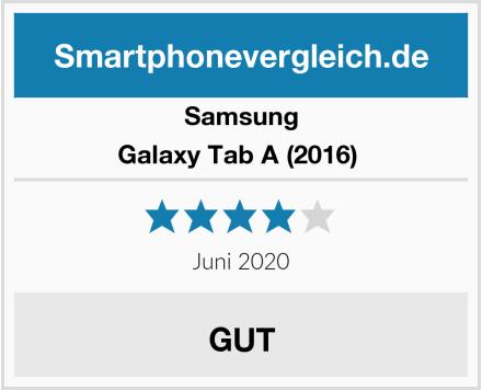 Samsung Galaxy Tab A (2016)  Test