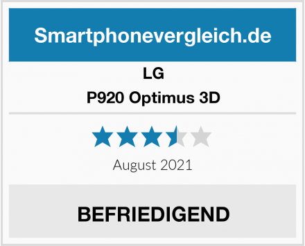 LG P920 Optimus 3D Test