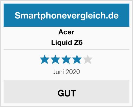 Acer Liquid Z6 Test