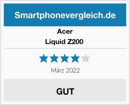 Acer Liquid Z200  Test