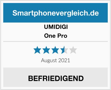 UMIDIGI One Pro Test