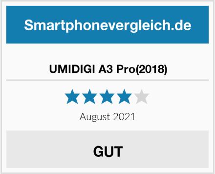 UMIDIGI A3 Pro(2018) Test