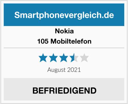 Nokia 105 Mobiltelefon Test