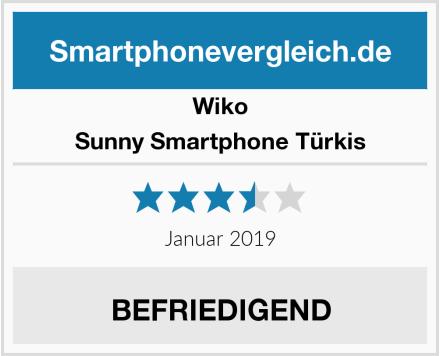 Wiko Sunny Smartphone Türkis Test
