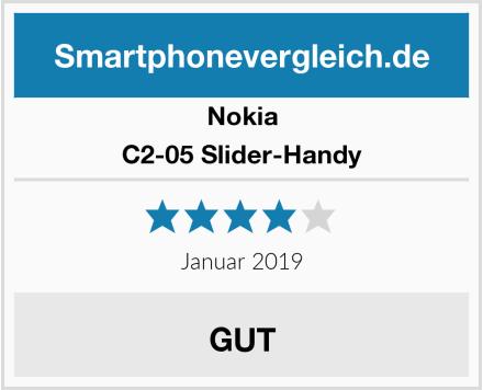 Nokia C2-05 Slider-Handy Test