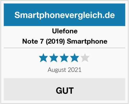 Ulefone Note 7 (2019) Smartphone Test
