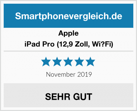 Apple iPad Pro (12,9 Zoll, Wi?Fi) Test