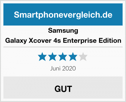Samsung Galaxy Xcover 4s Enterprise Edition Test