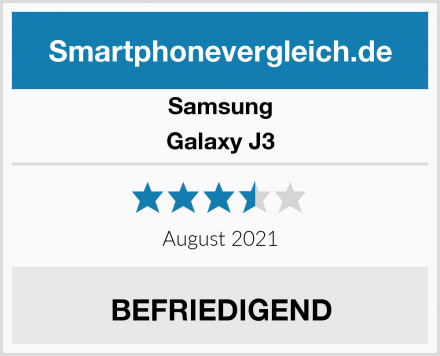 Samsung Galaxy J3 Test