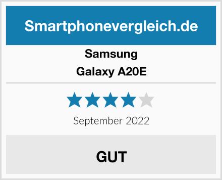 Samsung Galaxy A20E Test