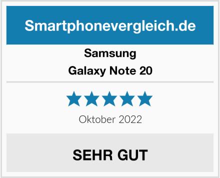 Samsung Galaxy Note 20 Test